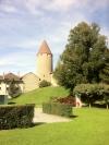 Bulle et son château, capitale du district de la Gruyère