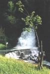 La cascade à Bellegarde