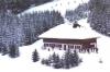 Le Chalet Untermoos placé dur les pistes de skis